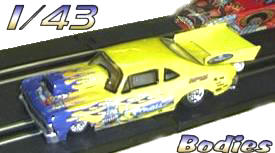 1/43 Slot Car Bodies by Hot Laps For Sale